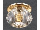 Точечный встраиваемый светильник Novotech 369726 Arctica (модерн, золото)