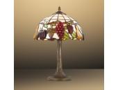 Настольная лампа Odeon Light 2525/1T Garden (тиффани, коричневый)