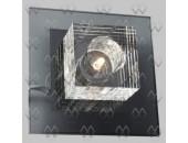 Светильник настенно-потолочный MW-Light 320020301 Кристалл (модерн, хром)