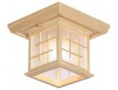 Люстра потолочная Svetresurs/Светресурс 592-717-01 (японский стиль, дерево)