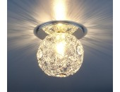 Точечный встраиваемый светильник Elektrostandard 1002 SL (модерн, хром)