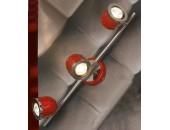 Светильник спот Lussole Tivoli LSN-3101-03 (красный)