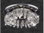 Точечный встраиваемый светильник Novotech 369269 Flame 1 (модерн, хром)