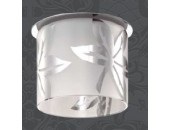 Точечный встраиваемый светильник Novotech 369737 Fay (модерн, хром)