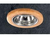 Точечный встраиваемый светильник Novotech 369281 Stone (модерн, хром)
