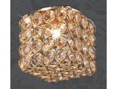 Точечный встраиваемый светильник Novotech 369741 Elf (модерн, золото)
