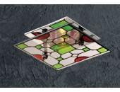 Точечный встраиваемый светильник Novotech 369394 Vitrage (тиффани, хром)