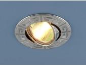 Точечный встраиваемый светильник Elektrostandard 120090 CH (модерн, хром)