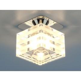Точечный встраиваемый светильник Elektrostandard 8250 СH/CL (модерн, хром-прозрачный)
