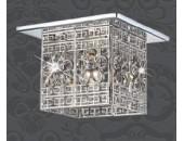 Точечный встраиваемый светильник Novotech 369684 Forged (модерн, хром)