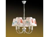 Люстра подвесная Odeon Light 2279/5 Cats (детский, белый)