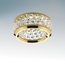 Точечный встраиваемый светильник Lightstar 031802 ONORE GRANDE (модерн, золото)