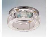 Точечный встраиваемый светильник Lightstar 002122 Crysto Facceto cr (модерн, прозрачный)