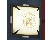 Светильник потолочный Lussole LSF-8002-03 Milis (японский стиль, венге)