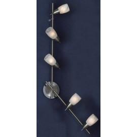 Светильник Lussole LSQ-6909-05 Cevedale (хай-тек, хром матовый)