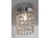 Точечный накладной светильник Lussole LSJ-0407-01 Monteleto (модерн, хром)