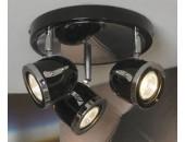 Светильник спот Lussole Tivoli LSN-3127-03 (черный)