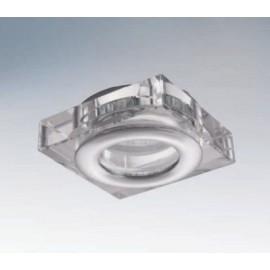 Влагозащищенный встраиваемый светильник Lightstar 006840 Difesa mini qua (модерн, прозрачный)