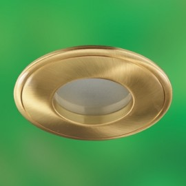 Влагозащищенный встраиваемый светильник Novotech 369304 Aqua (модерн, золото)