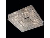 Люстра потолочная Citilux CL319281 Арена (классический, хром)