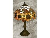 Настольная лампа Snowlight 13-556-01TM (тиффани, бронза)