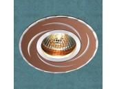 Точечный встраиваемый светильник Novotech 369770 Voodoo (модерн, коричневый)