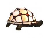 Настольная лампа черепаха Snowlight 13-941-01TB (тиффани, бронза)