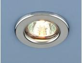 Точечный встраиваемый светильник Elektrostandard 9210 CH (модерн, хром)