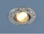 Точечный встраиваемый светильник Elektrostandard 711 CH (модерн, хром)