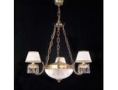 Люстра Reccagni Angelo L 4761/3+2 (классический, золото)