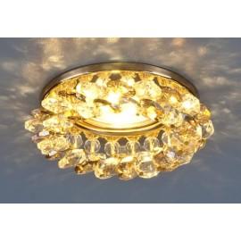 Точечный встраиваемый светильник Elektrostandard 206 GD/GC (модерн, золото-тонированный)