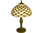 Настольная лампа Snowlight 1300941/1TM (тиффани, бронза)