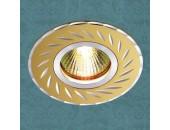 Точечный встраиваемый светильник Novotech 369772 Voodoo (модерн, золото)