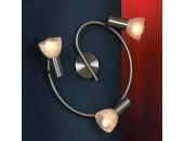 Светильник спот Lussole LSQ-4107-03 Leggero (хай-тек, хром матовый)