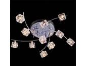 Люстра галогенная Евросвет/Eurosvet 4976/11 (модерн, хром)