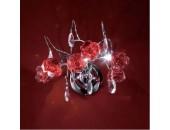 Бра Citilux EL325W03.2 Eletto Rosa Rosso (флористика, хром)