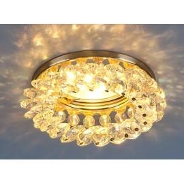 Точечный встраиваемый светильник Elektrostandard 206 GD/COLOR (модерн, золото-перламутр)