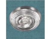 Влагозащищенный встраиваемый светильник Novotech 369813 Aqua (модерн, никель)