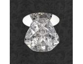 Точечный встраиваемый светильник Novotech 369673 Crystal (модерн, хром)