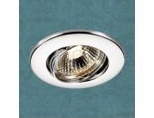 Точечный встраиваемый светильник Novotech 369693 Classic (модерн, хром)