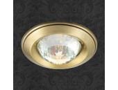 Точечный встраиваемый светильник Novotech 369649 Glam (модерн, бронза)