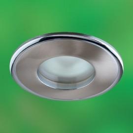 Влагозащищенный встраиваемый светильник Novotech 369302 Aqua (модерн, никель)
