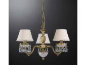 Люстра подвесная Reccagni Angelo L 6403/3 (классический, бронза)