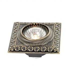 Встраиваемый светильник L`Arte Luce L11551.86 Mezel (классический, бронза)