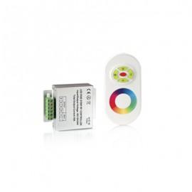 Контроллер для светодиодной ленты Gauss LED PC201013144RGB 144W 12А с сенсорным пультом управления цветом (белый)