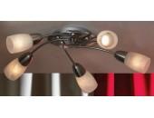 Люстра потолочная Lussole LSQ-6907-05 Cevedale (хай-тек, хром матовый)