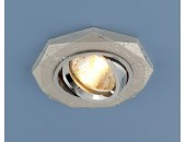 Точечный встраиваемый светильник Elektrostandard 2040 SL (модерн, серебро)