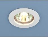 Точечный встраиваемый светильник Elektrostandard 863 WH (модерн, белый)