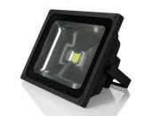 Прожектор светодиодный Gauss LED FL613100360 (модерн, черный)