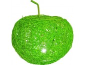 Настольная лампа яблоко Snowlight 2500093/1TG (ротанг, зеленый)